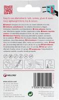 Velcro Hook & Loop Tape: Stick-On: 50cm x 20mm: Black - V60225